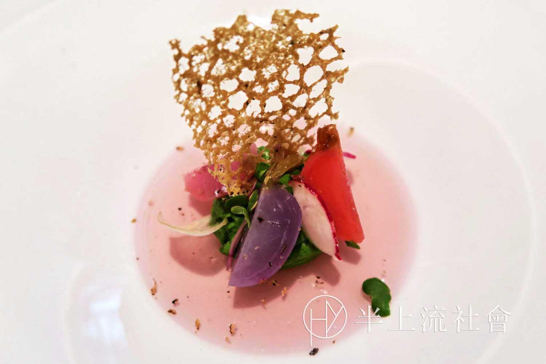 老饕帶路:巴黎|原米其林二星 La Table du Lancaster|充滿新鮮感的特殊擬態。法國餐廳 Monsieur Restaurant