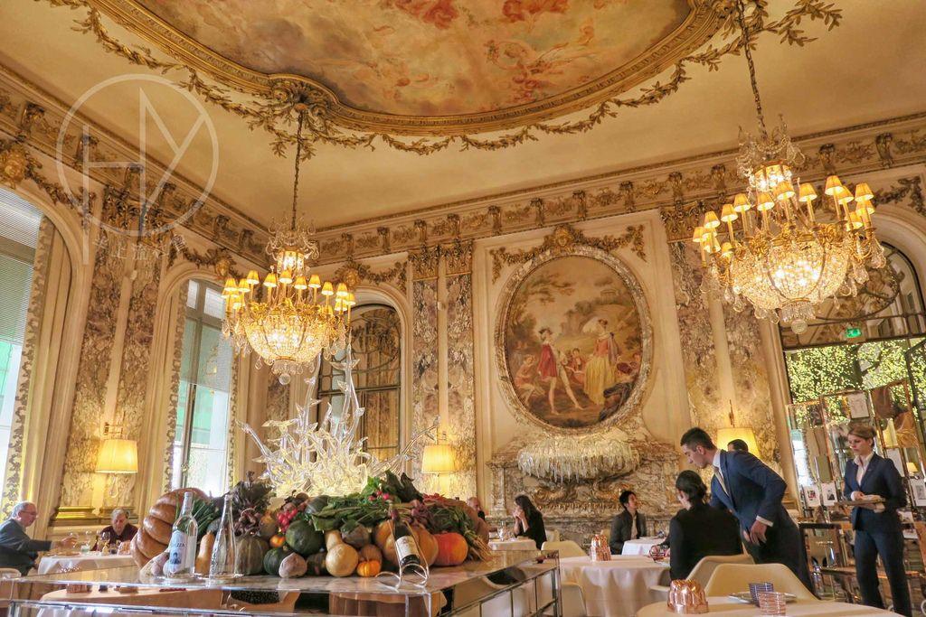 法國巴黎|地雷!《Le Meurice Alain Ducasse》原米其林三星,除卻裝潢一無可取。超級不推薦。